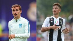 Antoine Griezmann und Paulo Dybala sollen auf dem Einkaufszettel der Bayern stehen