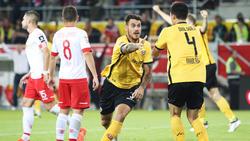 Auswärtssieg für Dynamo Dresden