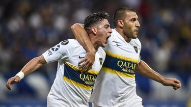 Pavón marcó el único gol de Boca ante el Cruzeiro. (Foto: Getty)