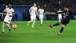 Bernat anotó un tanto frente al United en Champions. (Foto: Getty)