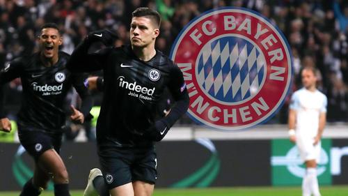 Der FC Bayern hat angeblich ernsthaftes Interesse an Frankfurts Luka Jovic