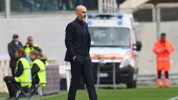 Stefano Pioli hat sein Traineramt niedergelegt