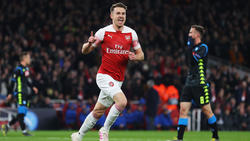 Ramsey abrió el marcador para el Arsenal. (Foto: Getty)