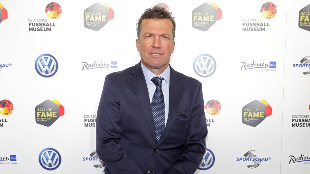 Lothar Matthäus hat sich zum Meisterrennen in der Bundesliga geäußert
