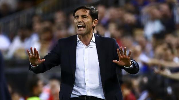 Valencia-Trainer Marcelino Garcia Toral und sein Team kämpfen am 38. Spieltag noch um Platz vier