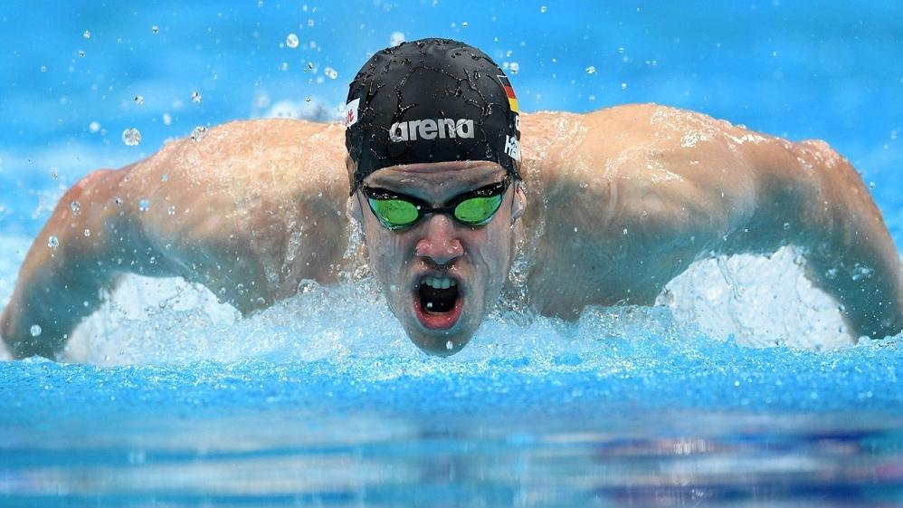 Philip Heintz schwimmt ab sofort für die Aqua Centurions