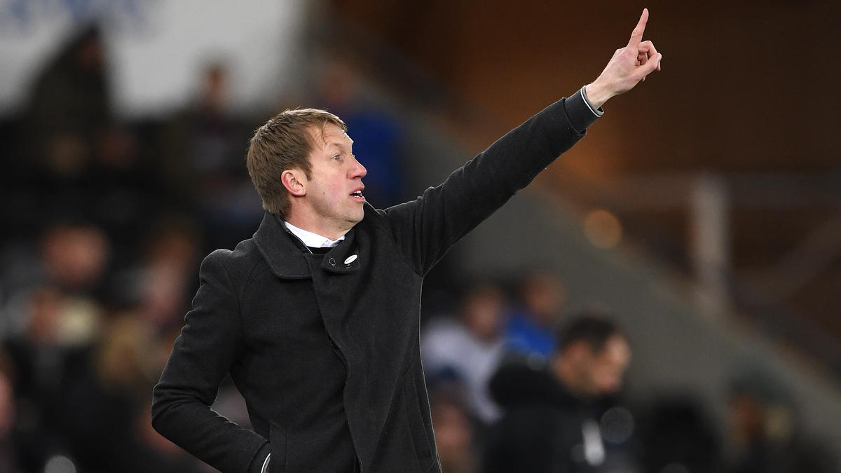 Graham Potter wird Teammanager bei Brighton & Hove Albion