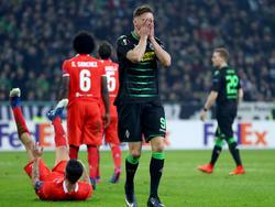 Gladbach konnte das Hinspiel in der Europa League gegen Florenz nicht gewinnen