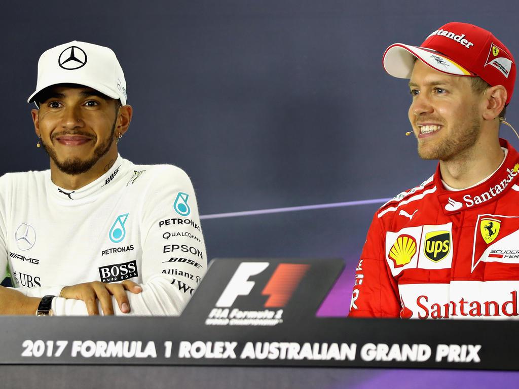 Das fahrerische Können von Lewis Hamilton (l.) und Sebastian Vettel steht mehr im Fokus