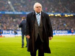 Hält große Stücke auf HSV-Trainer Christian Titz: Uwe Seeler