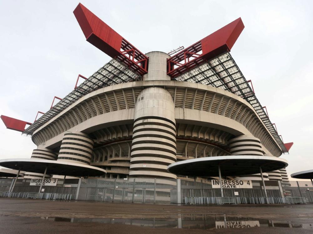 Das San-Siro-Stadion soll bald Geschichte sein