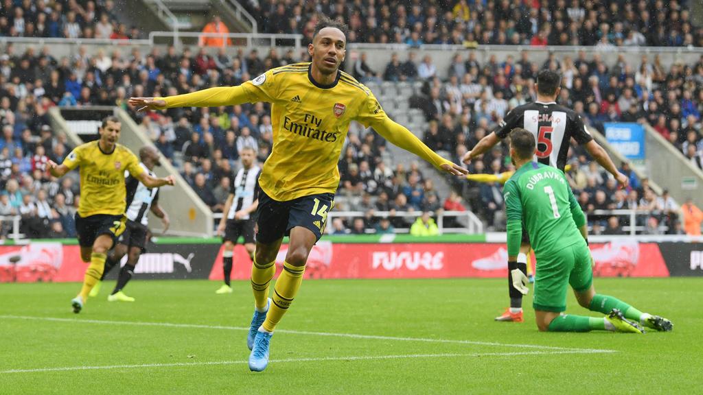 Pierre-Emerick Aubameyang erzielte den Siegtreffer für den FC Arsenal
