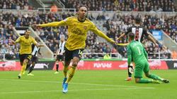 Aubameyang supera los números de Henry en el Arsenal.