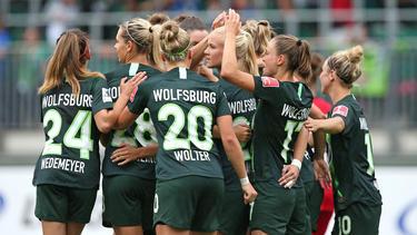Der VfL Wolfsburg besiegte den SC Sand