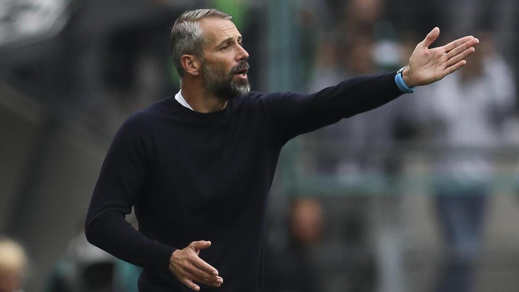Marco Rose und die Gladbacher müssen beim BVB ran
