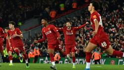 Der FC Liverpool bezwang den FC Arsenal in einem Pokal-Krimi