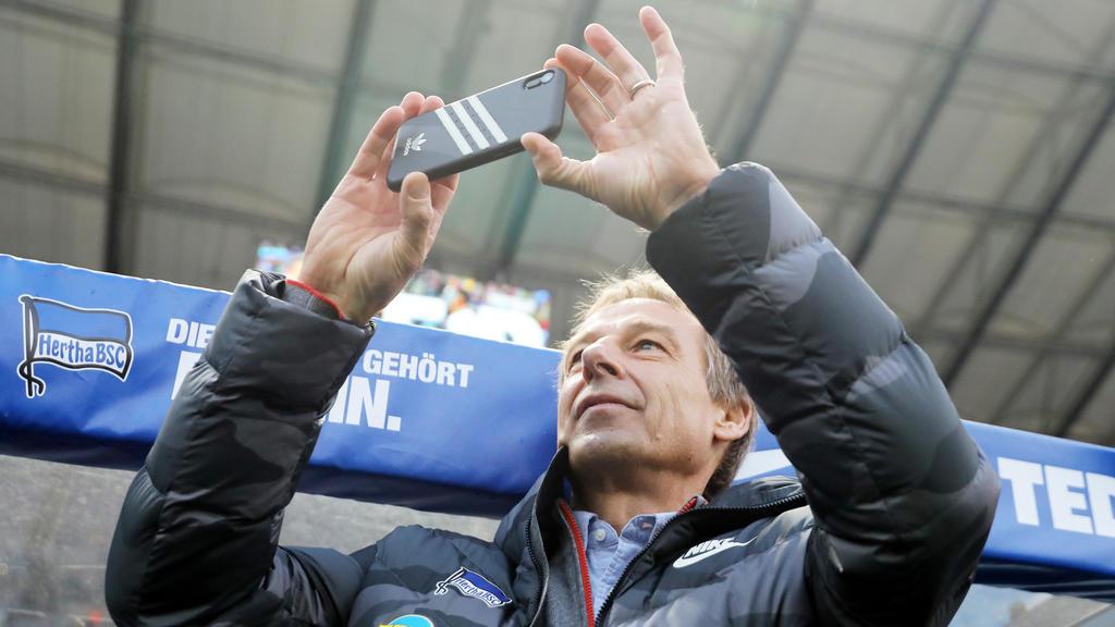 Jürgen Klinsmann will Adidas-Logo durch Hertha-Logo tauschen