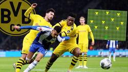Mats Hummels sah Gelb-Rot, Dan-Axel Zagadou dürfte ihn beim BVB vertreten