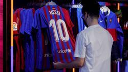 Von Messi bleiben in Zukunft nur noch die Trikots beim FC Barcelona