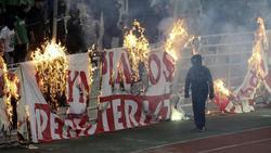 In Griechenland wird der Liga-Alltag von Krawallen überschattet