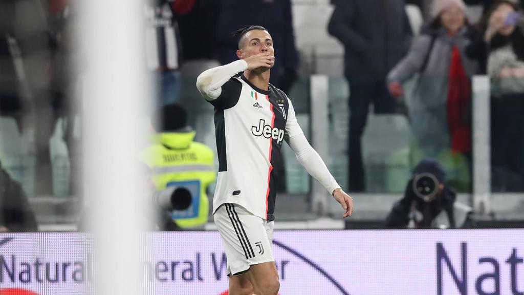 Cristiano Ronaldo schnürt Doppelpack für Juventus
