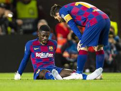 Ousmane Dembélé ist erneut zum Zuschauen verdammt