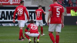 Beim 1. FC Kaiserslautern saß der Frust tief