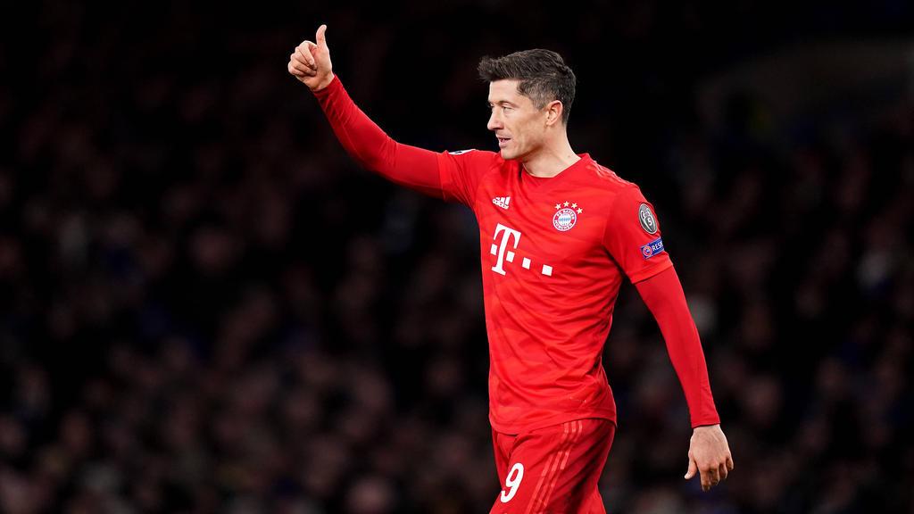 Aktuell noch Alleinunterhalter im Angriff des FC Bayern München: Torjäger Robert Lewandowski