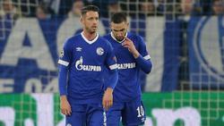 Mark Uth und Nabil Bentaleb stehen beim FC Schalke auf der Abschussliste