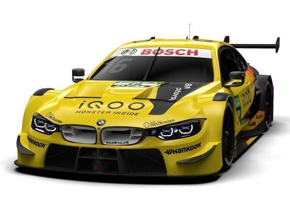 Timo Glocks neues BMW-Farbdesign erinnert an bessere Zeiten