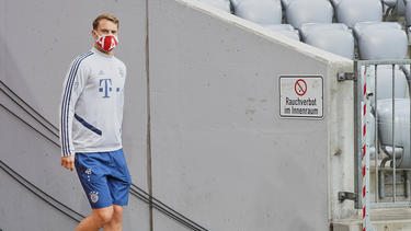 Steht in Dortmund zum 400. Mal in der Bundesliga im Tor: Manuel Neuer
