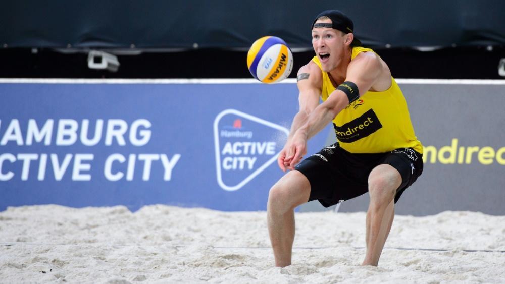 Philipp Arne Bergmann muss bei EM ohne seinen Stammpartner auskommen