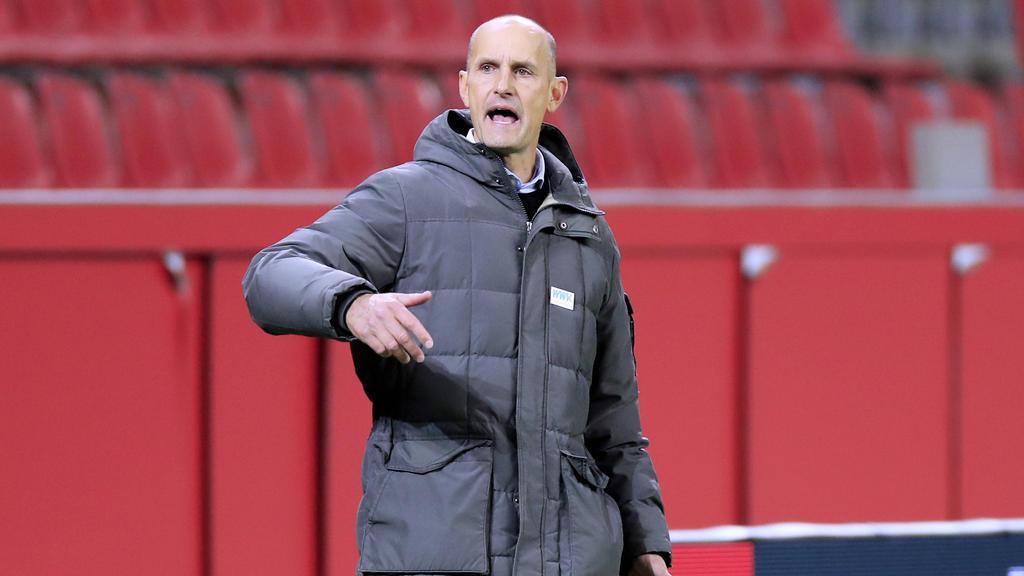 Heiko Herrlich will den 1. FSV Mainz 05 nicht unterschätzen