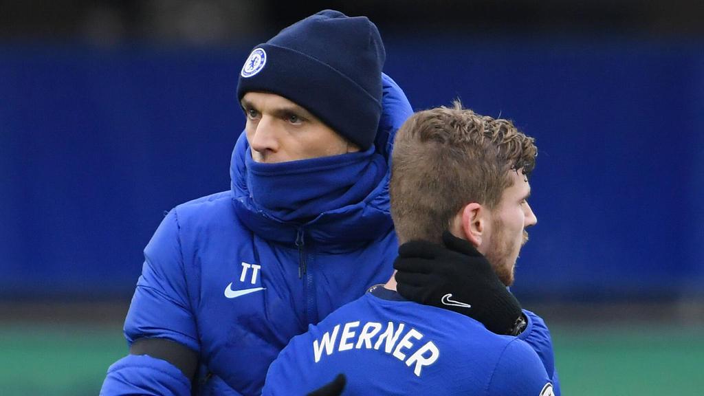 Timo Werner spielt beim FC Chelsea unter Coach Thomas Tuchel