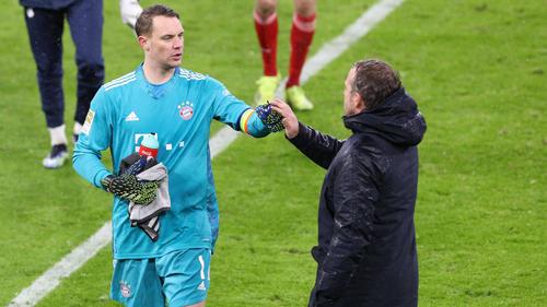Manuel Neuer will, dass Hansi Flick Trainer beim FC Bayern bleibt