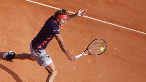 Alexander Zverev gibt sich in Monte Carlo keine Blöße