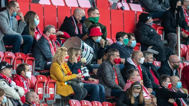 Der 1. FC Union Berlin möchte vor Zuschauern spielen