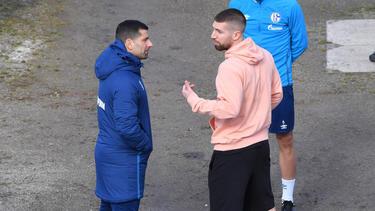 Matija Nastasic (r.) steht vor einem Abschied vom FC Schalke 04