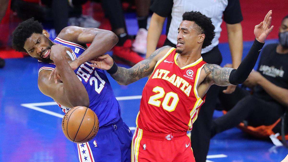 Das Duell zwischen den 76ers und den Hawks bleibt umkämpft