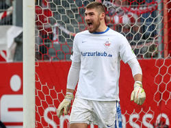 Rostock-Keeper Johannes Brinkies verlängert bis 2016