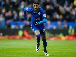 El jugador argelino del Leicester City Riyaz Mahrez. (Foto: Imago)
