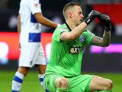 Mark Flekken unterlief gegen Ingolstadt der Patzer des Jahres
