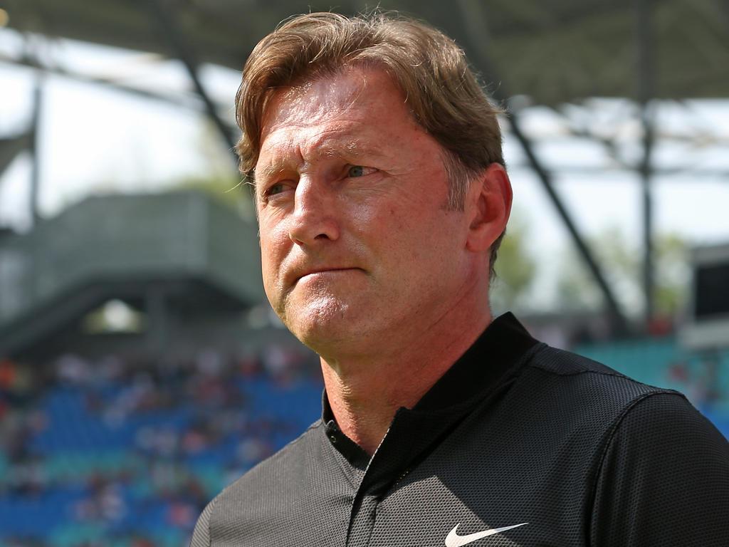 Ralph Hasenhüttl ist offenbar nicht mehr länger bei RB Leipzig im Amt