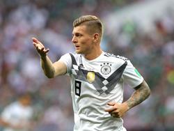 Toni Kroos ist in der deutschen Fußball-Nationalmannschaft nicht mehr unumstritten