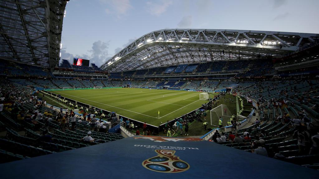 Das Olympiastadion füllt sich nach und nach