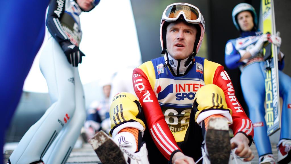 Skispringer Severin Freund stieg wieder ins Training ein