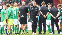 Florian Kohfeldt hat seine Profis verteidigt