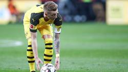 Marco Reus war nach dem Sieg des BVB voll des Lobes