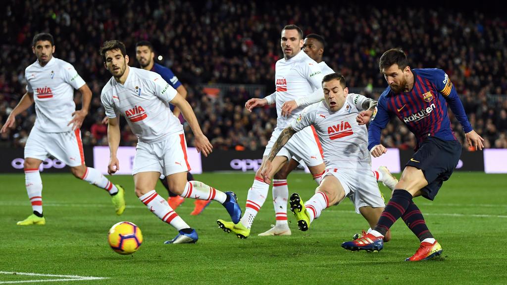 Lionel Messi erzielte sein 400. Tor für den FC Barcelona in La Liga