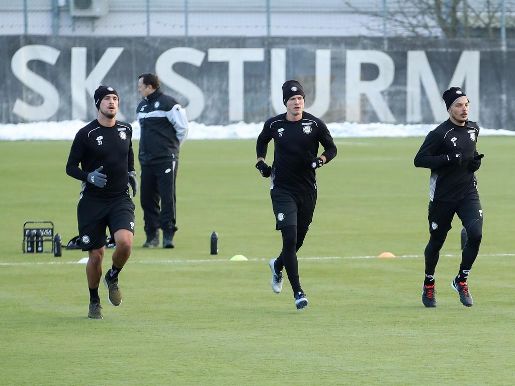 Trainingsauftakt für Mählich und Sturm Graz